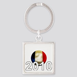 France World Cup2Bk Square Keychain