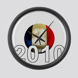 France World Cup2Bk Large Wall Clock