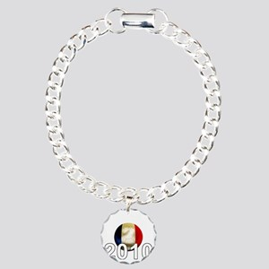 France World Cup2Bk Charm Bracelet, One Charm