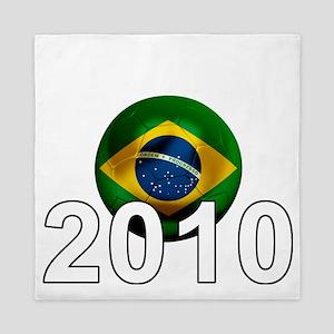 Brazil Football6Bk Queen Duvet