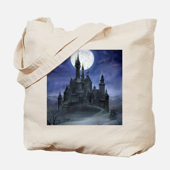 gothic castle reworked Tote Bag