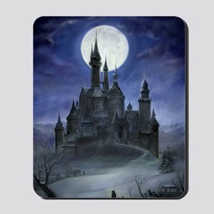 gothic castle reworked Mousepad