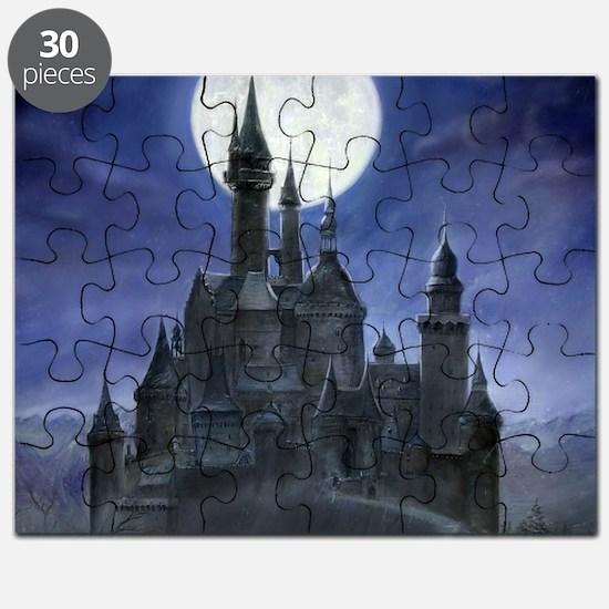 gothic castle reworked square Puzzle