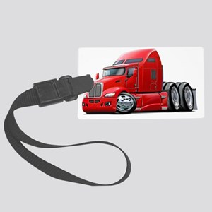 Kenworth 660 Red Truck Large Luggage Tag