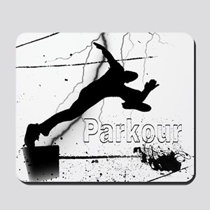 2-Parkour-lines10x10 copy Mousepad