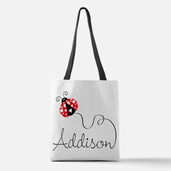 Ladybug Addison Polyester Tote Bag