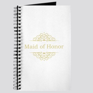 Maid of Honor in gold Journal