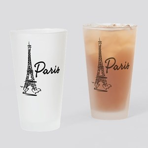2-paris Drinking Glass