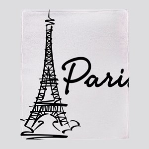 2-paris Throw Blanket