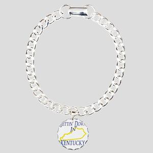 Kentucky - Gettin Down Charm Bracelet, One Charm