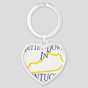 Kentucky - Gettin Down Heart Keychain