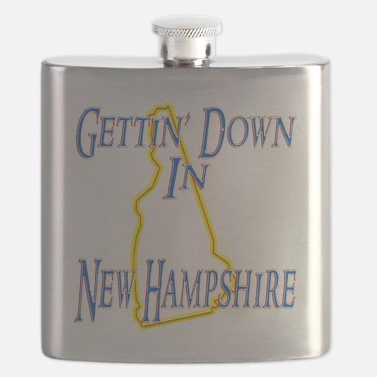 New Hampshire - Gettin Down Flask