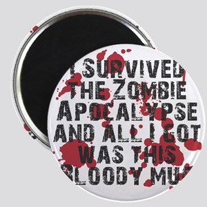 zombie apocalypse mug Magnet