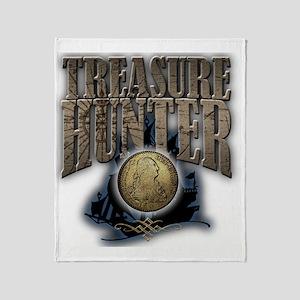 Treasure Hunter2 Throw Blanket