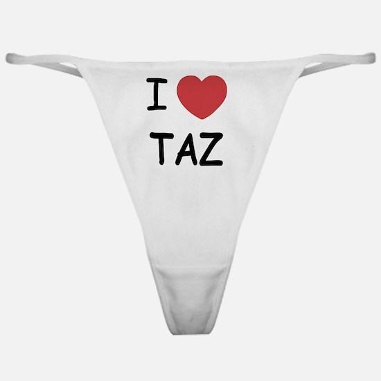 TAZ01 Classic Thong