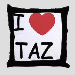 TAZ01 Throw Pillow