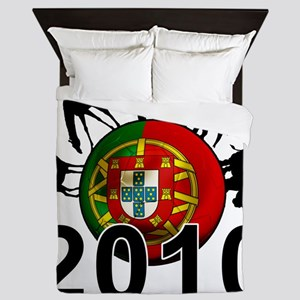 Portugal Football2 Queen Duvet