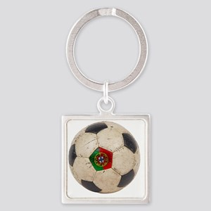Portugal Football6 Square Keychain
