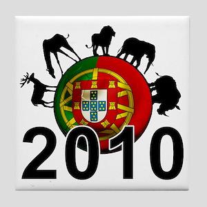 Portugal Football2 Tile Coaster