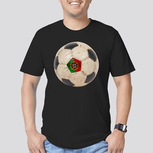 Portugal Football6 Men's Fitted T-Shirt (dark)