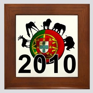 Portugal Football2 Framed Tile
