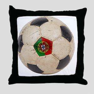 Portugal Football6 Throw Pillow