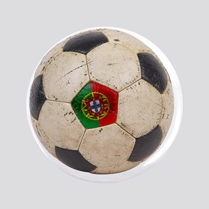 "Portugal Football6 3.5"" Button"