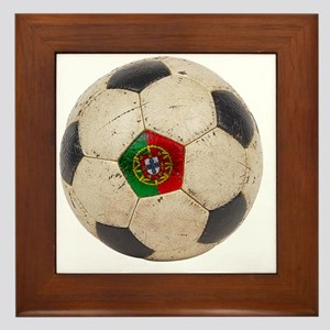 Portugal Football6 Framed Tile