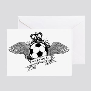Portugal Football5 Greeting Card