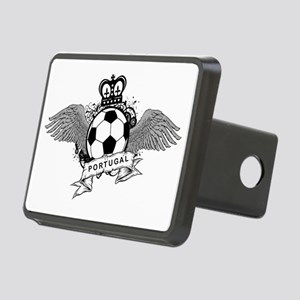 Portugal Football5 Rectangular Hitch Cover