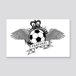 Portugal Football5 Rectangle Car Magnet
