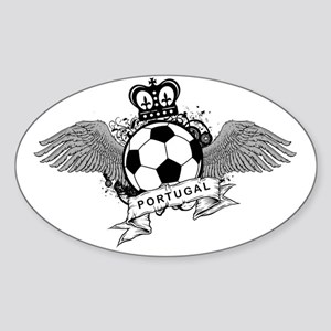 Portugal Football5 Sticker (Oval)