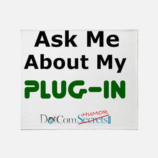 ask-me-plugin-02 Throw Blanket