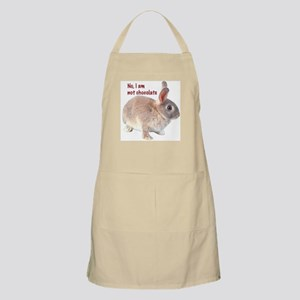 I Am Not Chocolate Bunny BBQ Apron