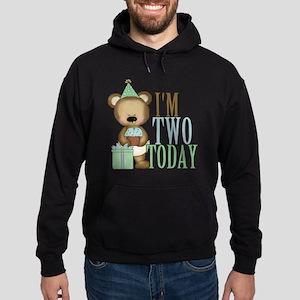IM TWO TODAY Hoodie (dark)
