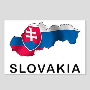 MapOfSlovakia1 Postcards (Package of 8)