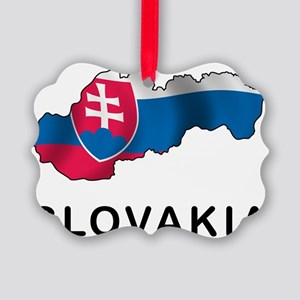 MapOfSlovakia1 Picture Ornament
