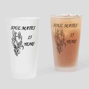 SOUL MATES 15 Drinking Glass