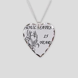 SOUL MATES 15 Necklace Heart Charm