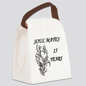 SOUL MATES 15 Canvas Lunch Bag