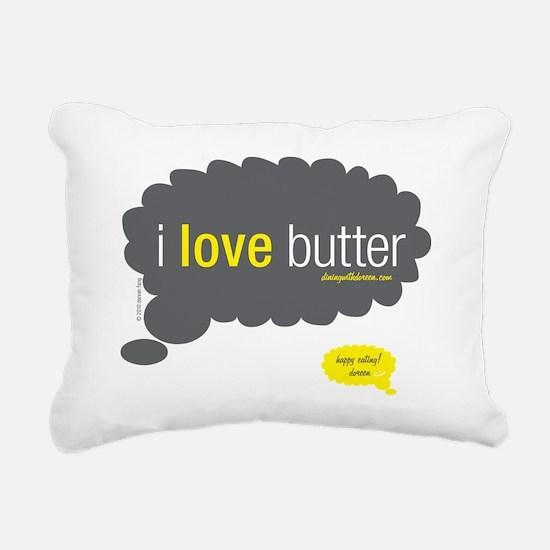 10x10-my-thoughts-exactl Rectangular Canvas Pillow