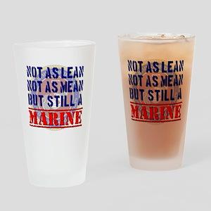 Not as Lean Still a Marine Drinking Glass