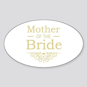 Mother of the Bride gold Sticker
