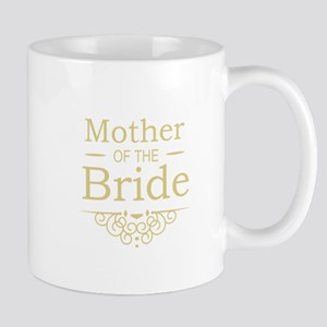Mother of the Bride gold Mugs