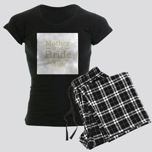 Mother of the Bride gold pajamas