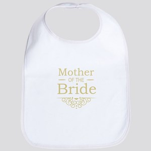 Mother of the Bride gold Bib
