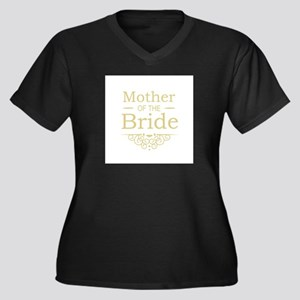 Mother of the Bride gold Plus Size T-Shirt