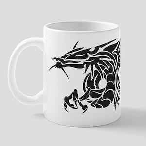 Tribal Winged Dragon Mug