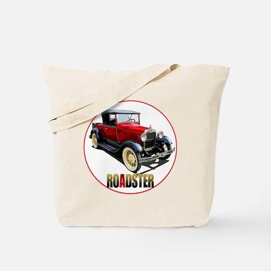 RedAroadster-C8trans Tote Bag