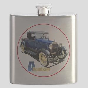 Aroadster-blue-C8trans Flask